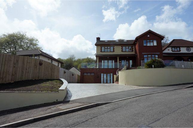 Thumbnail Detached house for sale in The Oaks, Llantwit Fardre