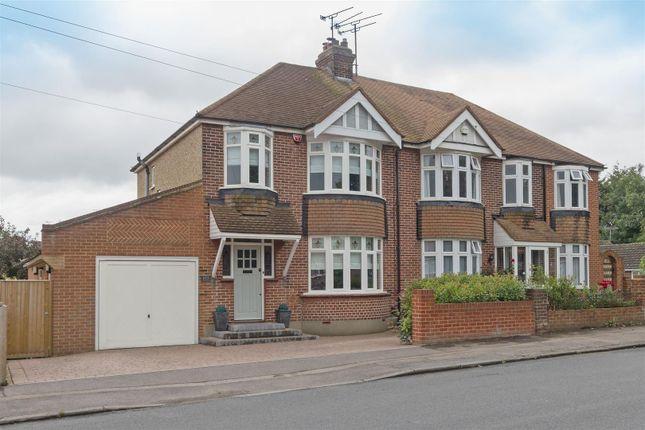 Thumbnail Semi-detached house for sale in Staplehurst Road, Milton Regis, Sittingbourne