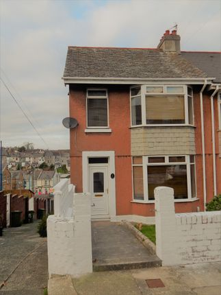 Thumbnail End terrace house to rent in Fullerton Road, Milehouse, Plymouth