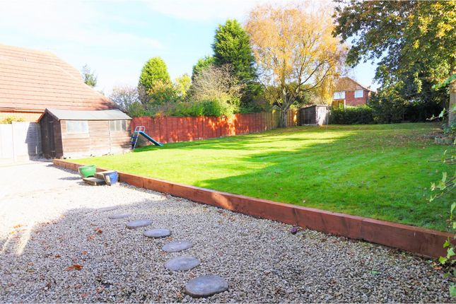 Thumbnail Detached bungalow for sale in Fordbrook Lane, Walsall