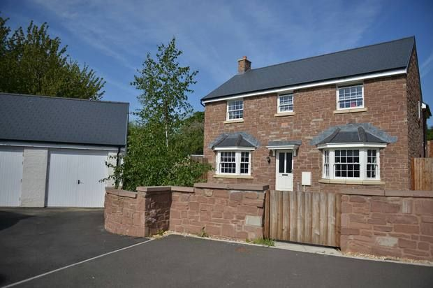 Thumbnail Detached house to rent in Crawshay Bailey Close, Gilwern
