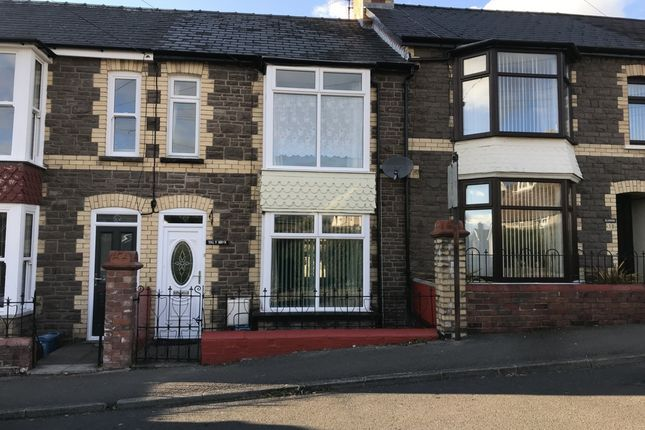 Thumbnail Terraced house to rent in Wyndham Road, Abergavenny