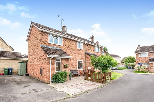Thumbnail End terrace house for sale in Dummer Way, Chippenham