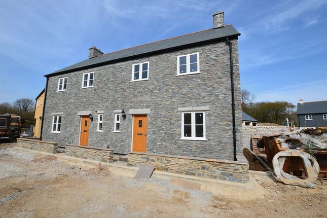 Thumbnail End terrace house for sale in South View, Mary Tavy, Tavistock