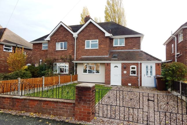 Semi-detached house in  Ponesfield Road  Lichfield W Birmingham