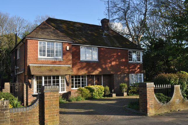 Thumbnail Detached house for sale in Woodland Avenue, Eastbourne