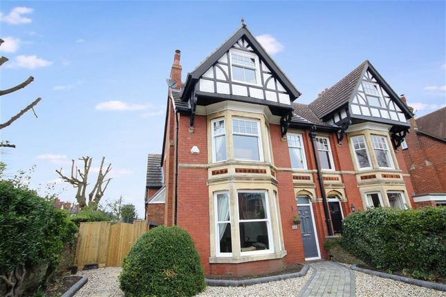 Thumbnail Semi-detached house for sale in Westlecot Road, Old Town, Swindon