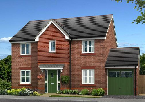 Thumbnail Detached house for sale in Plot 3, Biddulph Road, Congleton, Cheshire