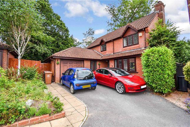 Thumbnail Detached house for sale in Hurricane Drive, Rownhams, Southampton