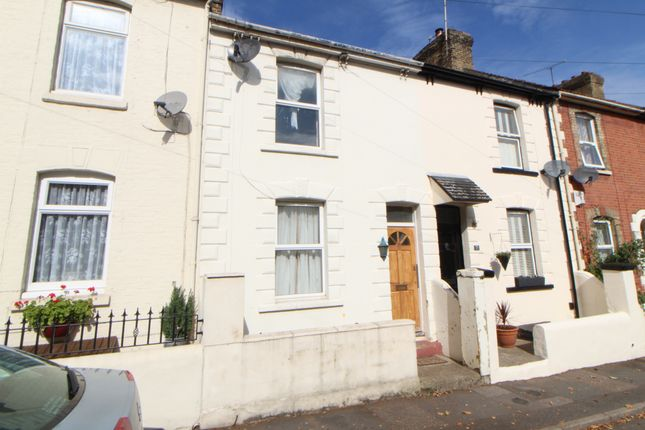 Thumbnail Terraced house to rent in Sidney Road, Gillingham