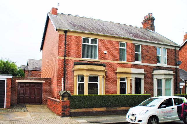Thumbnail Semi-detached house for sale in Bede Burn Road, Jarrow