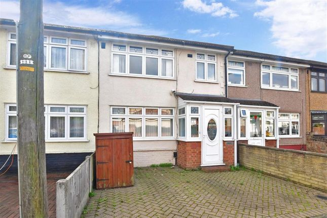 Thumbnail Terraced house for sale in Maybank Avenue, Hornchurch, Essex