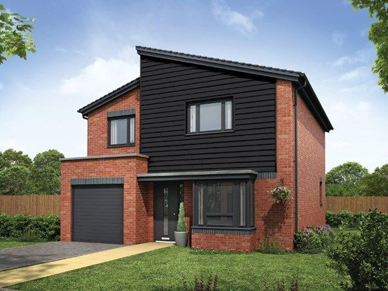 Thumbnail Detached house for sale in Plot 15, The Roxham, Hansons View, Kimberley, Nottingham
