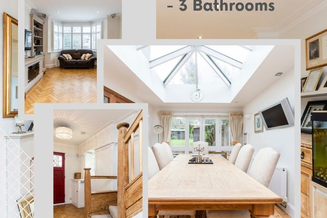 Thumbnail Semi-detached house for sale in Creighton Avenue, Muswell Hill, London
