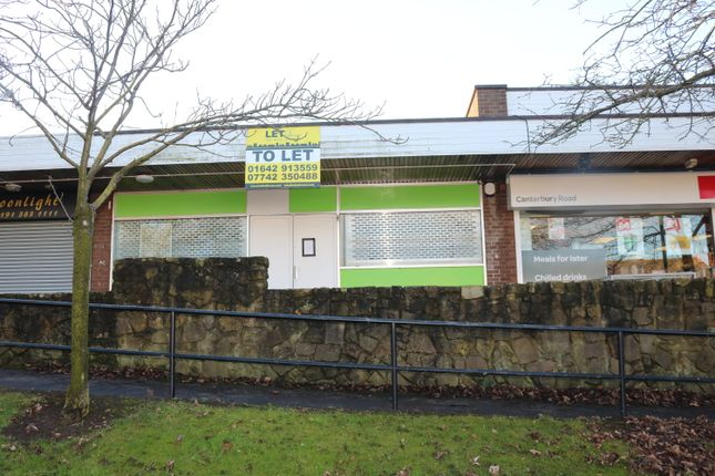 Thumbnail Retail premises to let in Canterbury Road, Durham