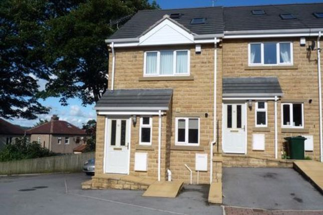Thumbnail Town house to rent in Platt Court, Shipley