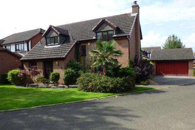 Thumbnail Detached house for sale in Barlow Way, Sandbach