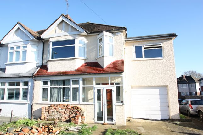 Thumbnail Semi-detached house for sale in Garth Road, Morden