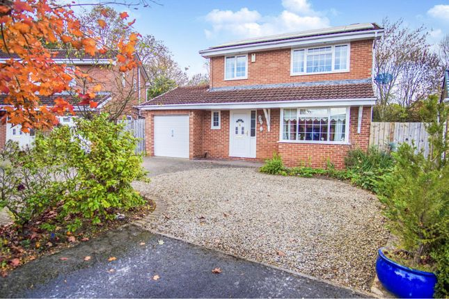 Thumbnail Detached house for sale in Dudley Drive, Newton Aycliffe