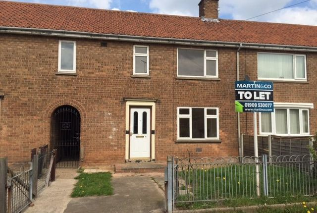 Thumbnail Terraced house to rent in Willow Avenue, Carlton-In-Lindrick, Worksop