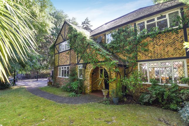 Thumbnail Detached house for sale in Crawley Drive, Camberley, Surrey