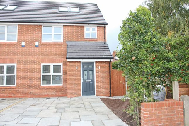 Thumbnail Semi-detached house for sale in Forbes Close, Offerton, Stockport