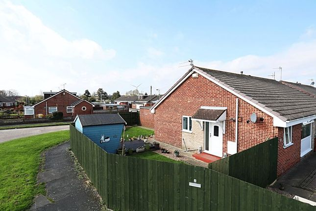 Thumbnail Semi-detached bungalow for sale in Stonesdale, Sutton-On-Hull, Hull