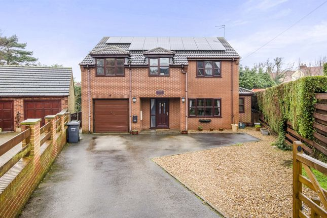 Thumbnail Detached house for sale in Finkle Street, Hensall, Goole
