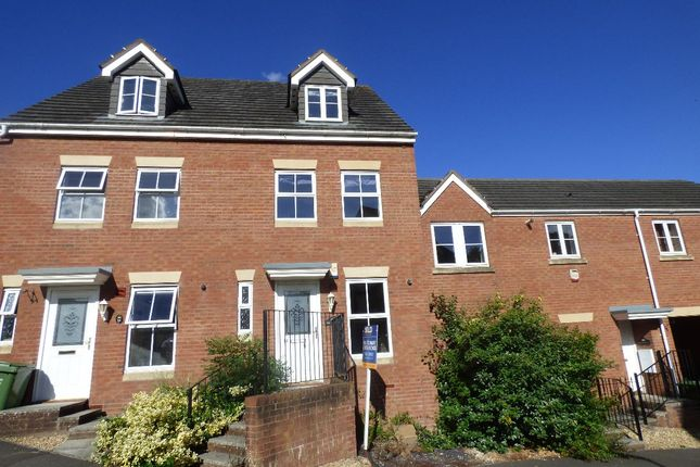Thumbnail Terraced house to rent in Lavender Road, Exeter