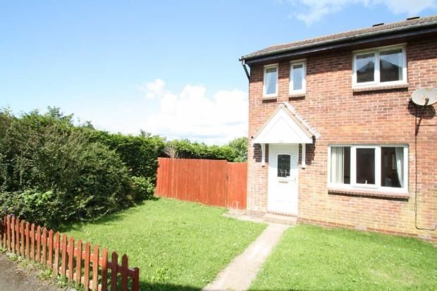 Thumbnail End terrace house to rent in Jennyscombe Close, Plymouth