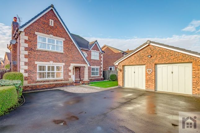 Thumbnail Detached house for sale in Hedgerows Road, Leyland