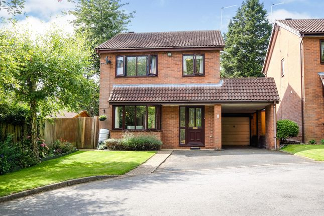 Thumbnail Detached house for sale in St Stephens Gardens, Riverside, Redditch