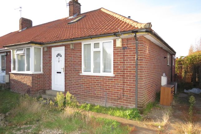 Bungalow for sale in Jubilee Road, Sprowston, Norwich