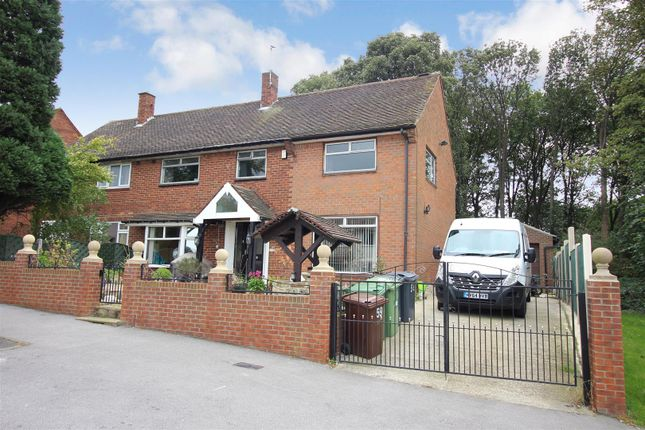 Thumbnail Semi-detached house for sale in Swarcliffe Drive, Swarcliffe, Leeds