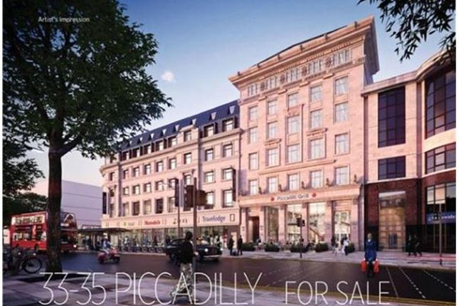 Thumbnail Retail premises for sale in 33-35, Piccadilly, Manchester, Greater Manchester, UK