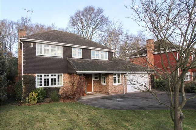 Thumbnail Detached house for sale in Mayflower Drive, Yateley, Hampshire