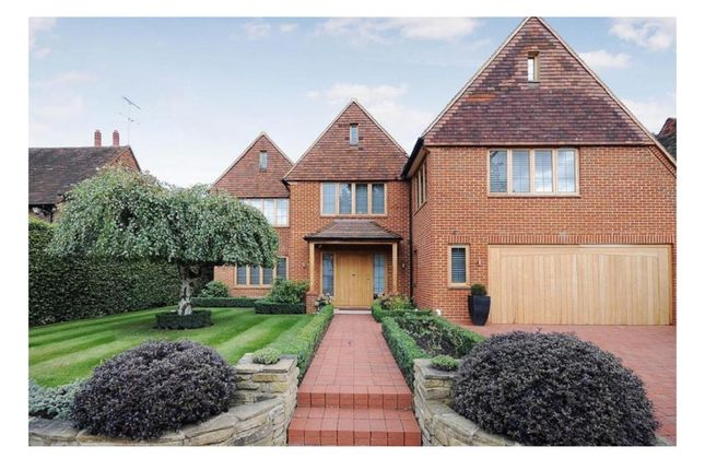 Thumbnail Detached house to rent in Clive Road, Esher
