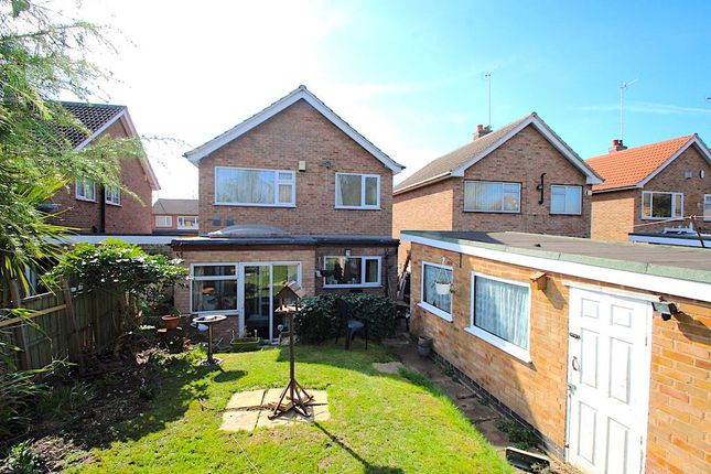 Thumbnail Detached house for sale in Westover Road, Braunstone, Leicester