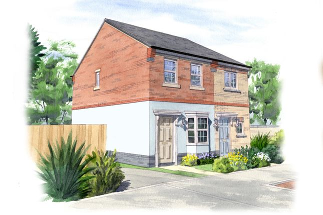2 bed semi-detached house for sale in Isabel Lane, Kibworth Beauchamp, Leicester LE8