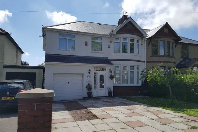 Thumbnail Semi-detached house for sale in Colcot Road, Barry