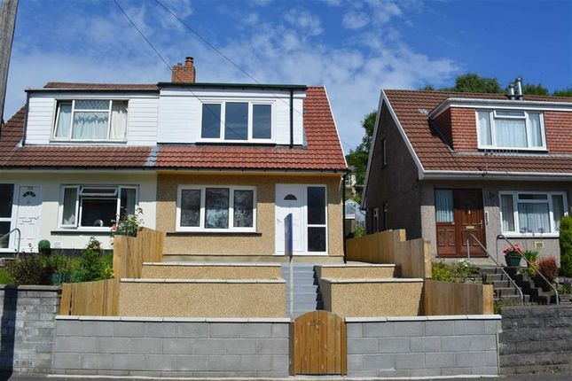 Thumbnail Semi-detached house for sale in Brynmair Road, Aberdare, Rhondda Cynon Taff