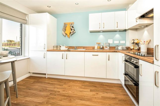 """Thumbnail 4 bed end terrace house for sale in """"Plot 245- The Laurel- Coppice Place At Sherford"""" at Hercules Road, Sherford, Plymouth"""