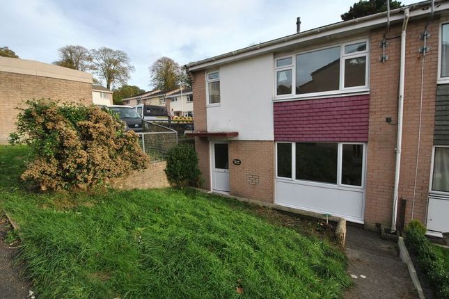 Thumbnail End terrace house to rent in 3 Bedroom House, Crow View, Barnstaple
