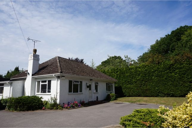 Thumbnail Detached bungalow for sale in Aldershot Road, Pirbright