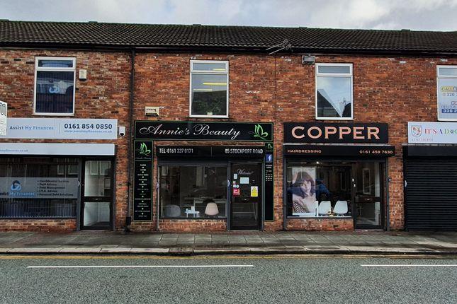 Retail premises to let in Stockport Road, Denton