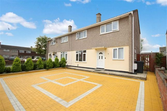Thumbnail Semi-detached house for sale in Petersfield Road, Park South, Swindon