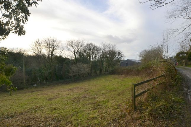 Thumbnail Land for sale in Tomperrow, Threemilestone, Truro