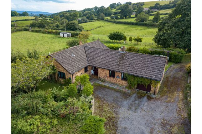 Thumbnail Detached bungalow for sale in Trostrey, Usk