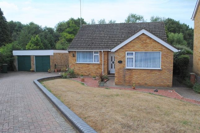 Thumbnail Detached bungalow for sale in Meadow View, Higham Ferrers, Rushden