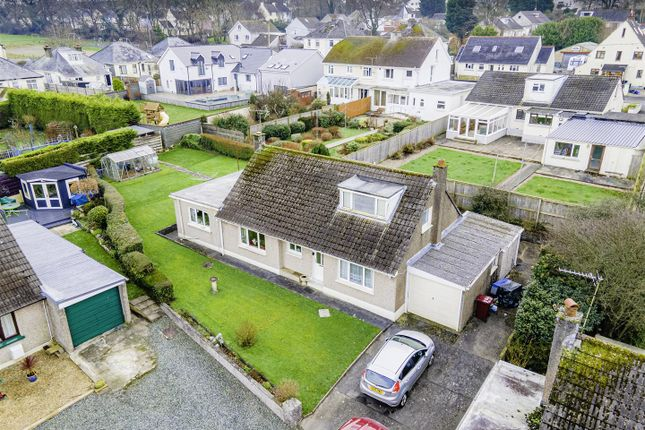 Drone Front of 9 Haylett Lane, Haverfordwest SA61
